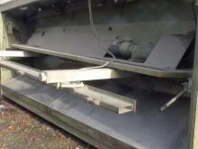 Nůžky tabulové hydraulické